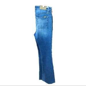 Joes Jeans Medium High Rise Flare 28  M med wash